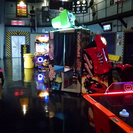 Stop by and check out our new arcade, we have plenty of your favorite video games.
